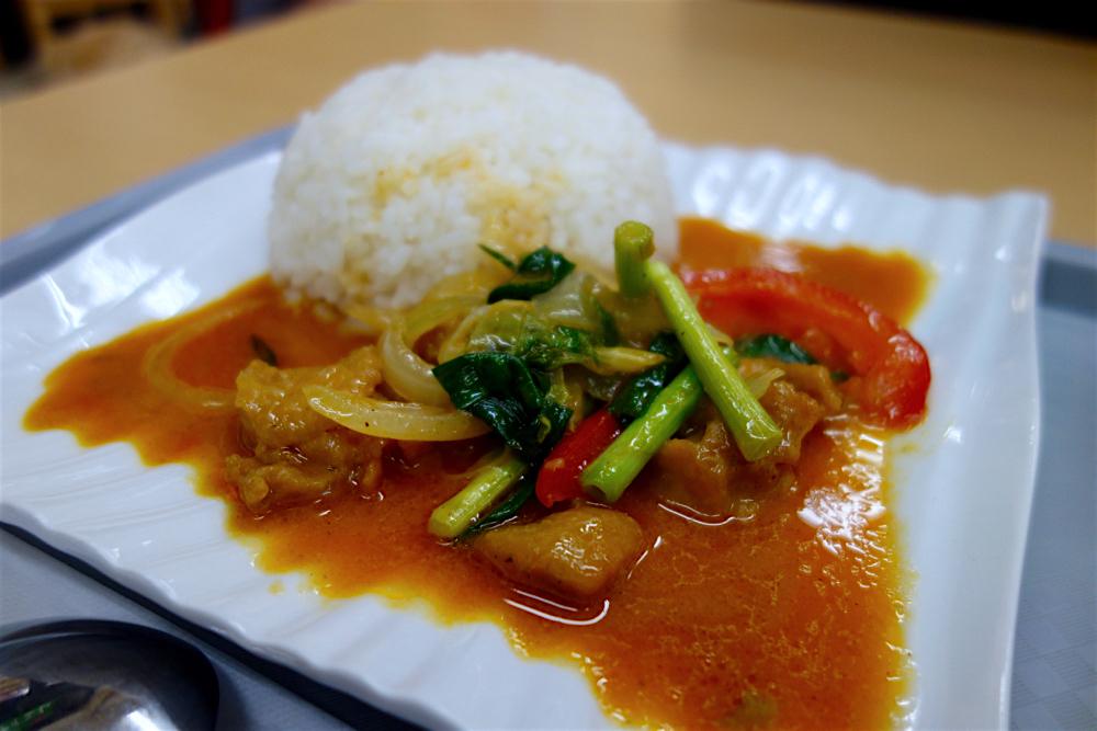 アジアンフュージョン料理ナイエム@鹿沼市睦町 2 ビ パット ポン カレー2