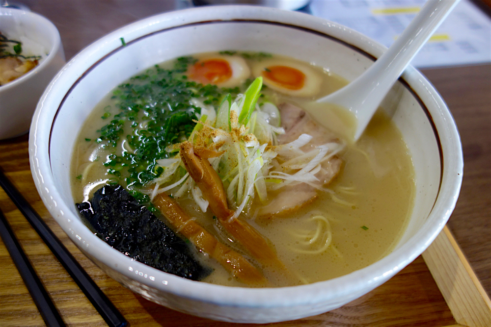 タムラ食堂@宇都宮市海道町 鶏そば(塩)
