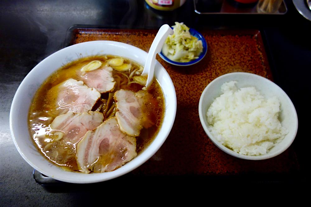 黒田屋@小山市神鳥谷 チャーシューメン+半ライス