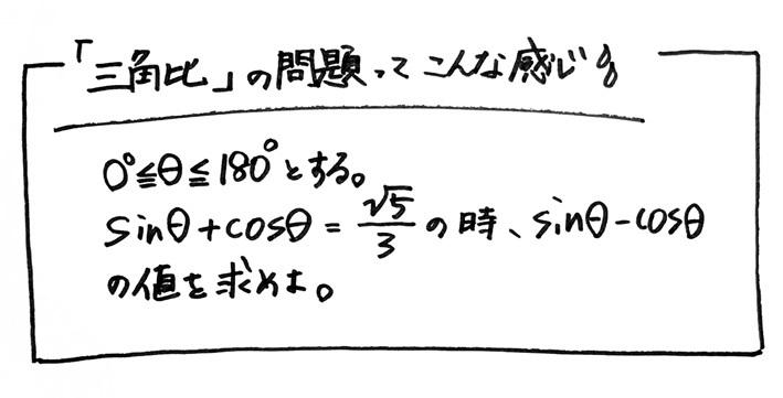 三角比と因数分解1
