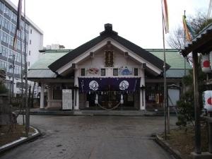 191226善知鳥神社拝殿