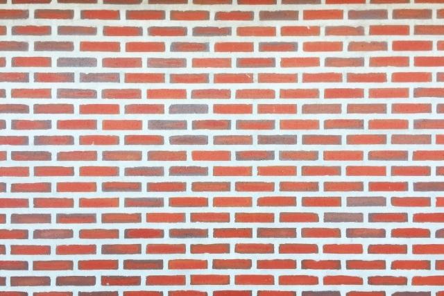 ブロック 壁 止める