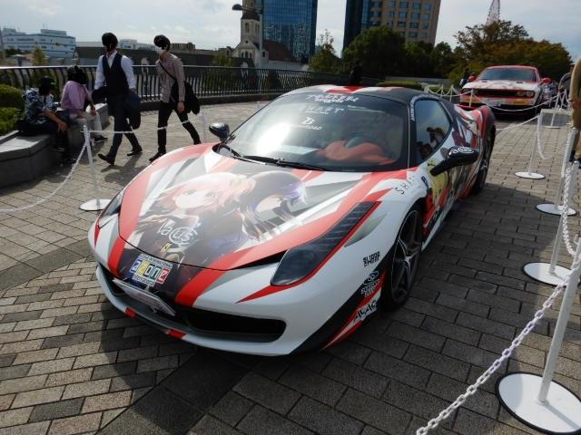 フェラーリ痛車2019