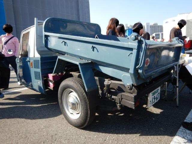 1967年式マツダT600ダンプ2019-2