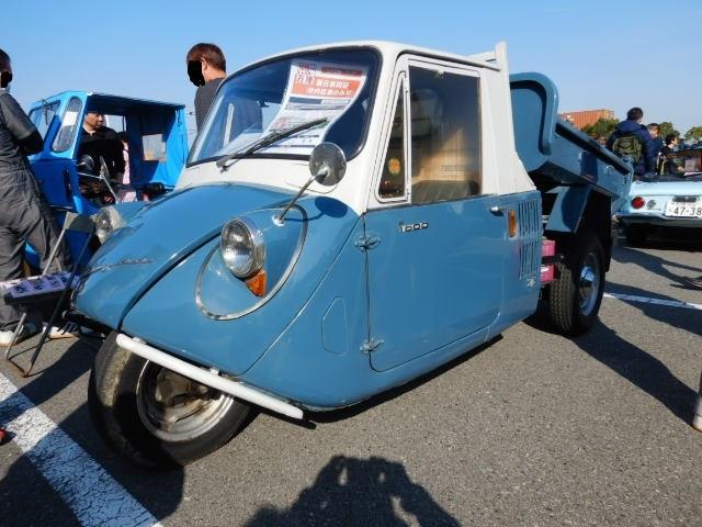 1967年式マツダT600ダンプ2019-1