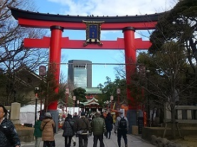 ・恵比寿天・富岡八幡宮