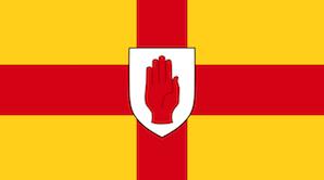 北アイルランドの旗