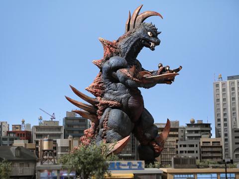 凶猛怪獣ギーストロン