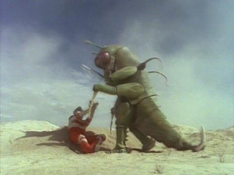 『ウルトラマングレート』 第8話 「姿なき復讐 -昆虫の叫び-」(原題:Bitter harvest)