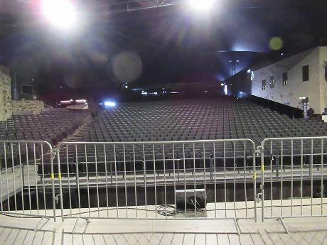 Olavilinna舞台上