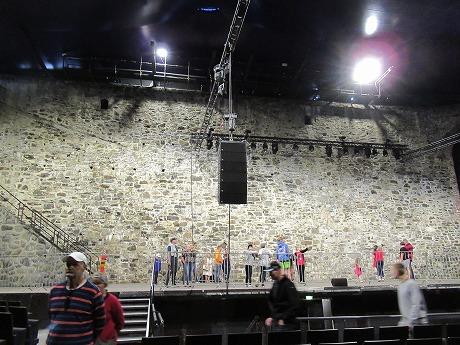 Olavilinna舞台