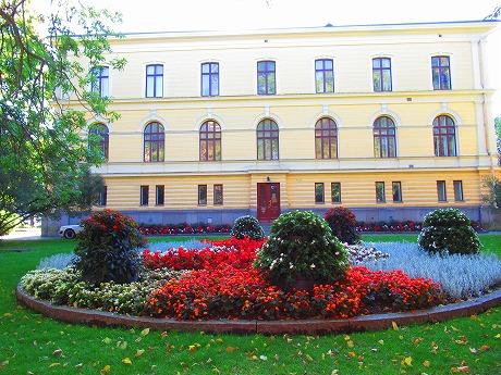 Vaasa市庁舎庭