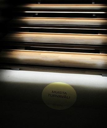Taidehalli階段