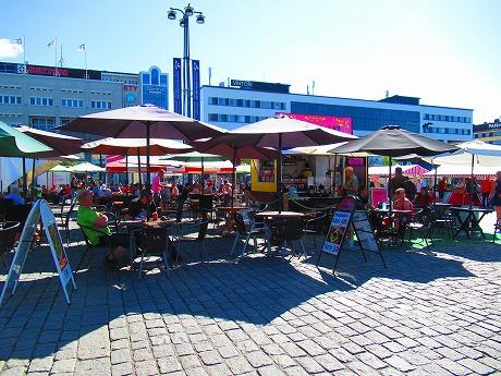 クオピオ中央広場