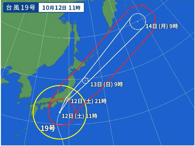 1 台風19号