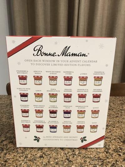 Bonne Maman Advent Calendar 2019