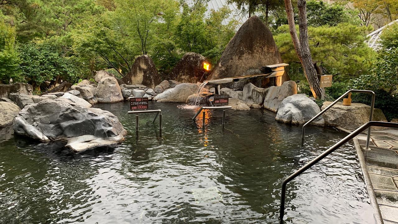 温泉施設 湯あみの島 (2019年10月)