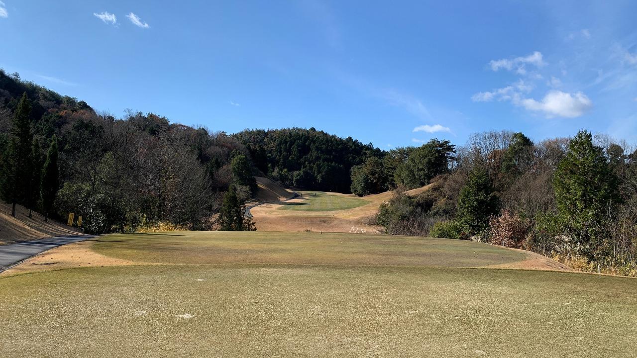 エクセレントゴルフクラブみたけ花トピアコース (2019年12月)