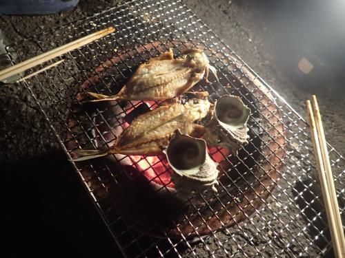 七輪焼き②