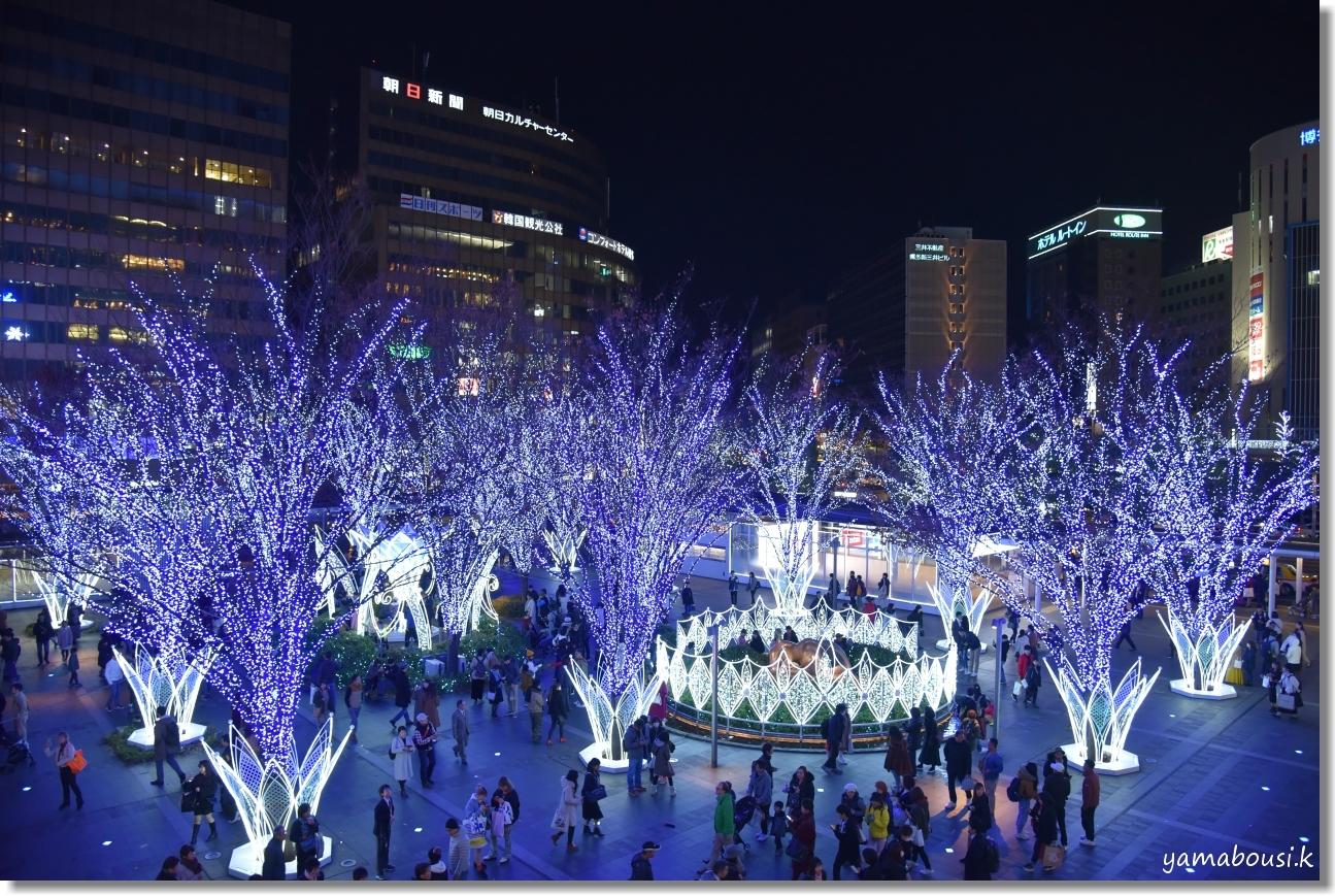 Happy Christmas 2019! 光の街・博多 4