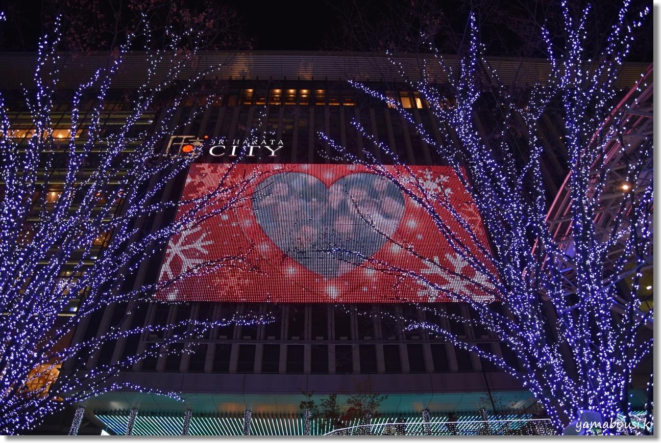 Happy Christmas 2019! 光の街・博多 5