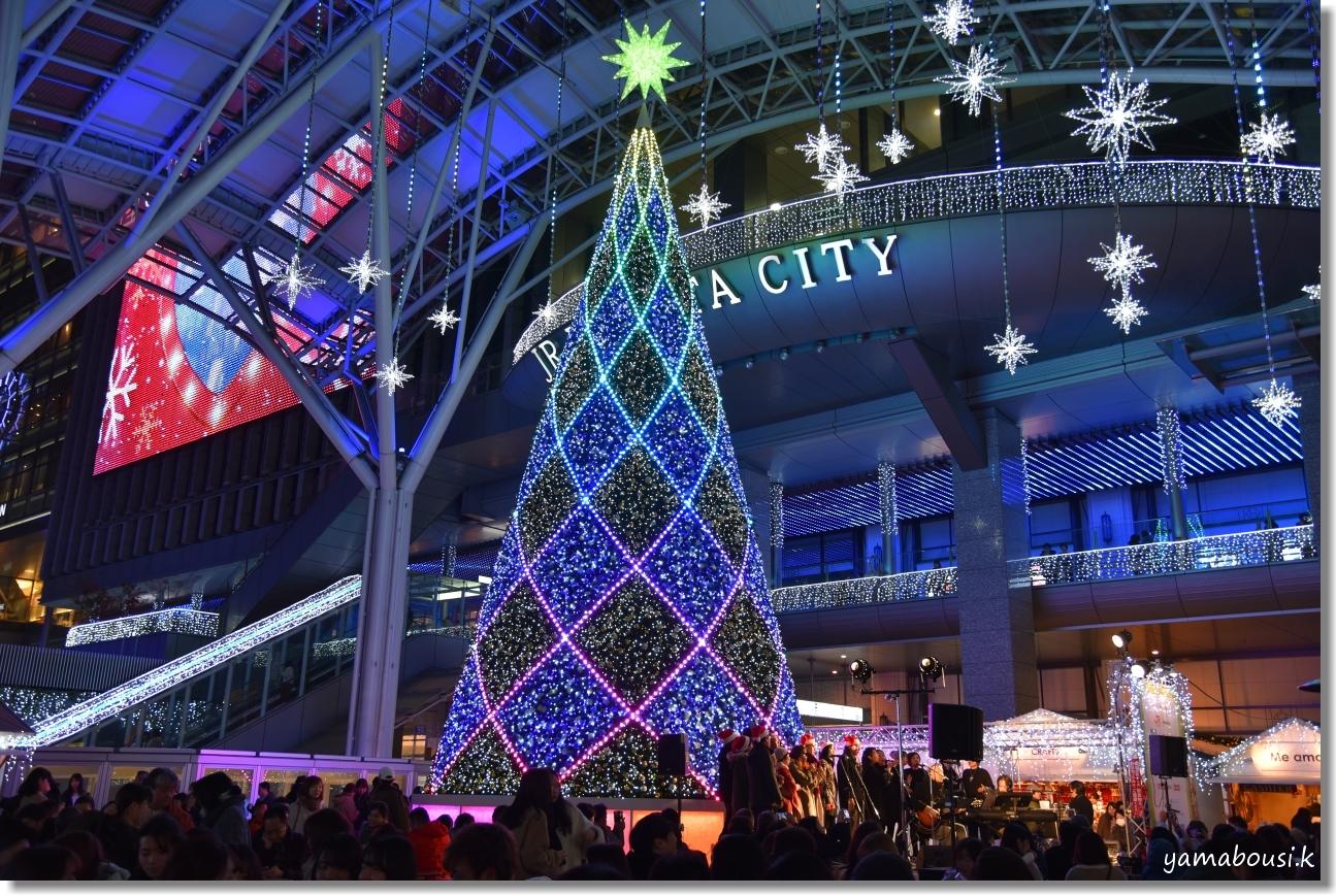 Happy Christmas 2019! 光の街・博多 1