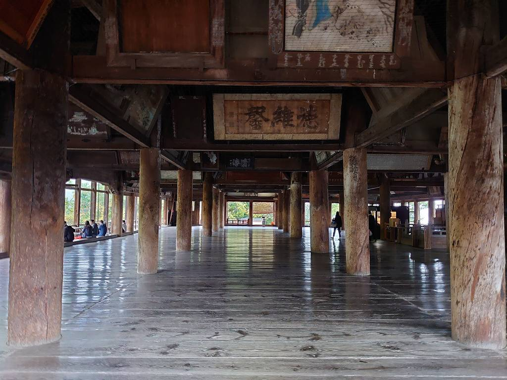 「千畳閣と五重塔(広島県廿日市)」豊臣秀吉が建立した宮島の豊国神社