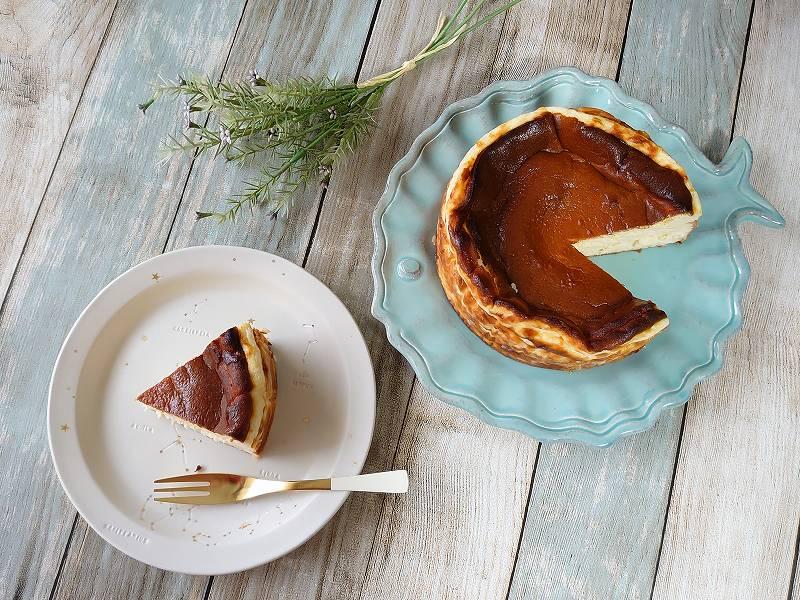 「バスクチーズケーキ」の作り方☆濃厚なめらか!リッチな味わいレシピ