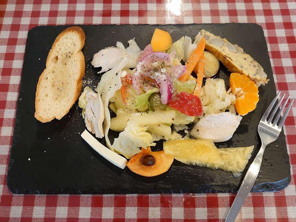 「イタリアンバル小倉SAMURAI(小倉北区)」ランパス北九州で!ボリューム前菜とパスタとプリン