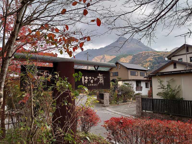 大分県☆由布の旅館「山紫御泊処 はなの舞」感動が連続する美味しいお料理!
