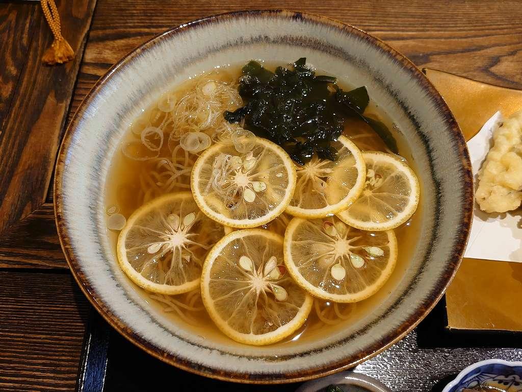 「青空みあん(小倉南区)」ランパス北九州!隠れ家的日本家屋でかぼす蕎麦ランチ