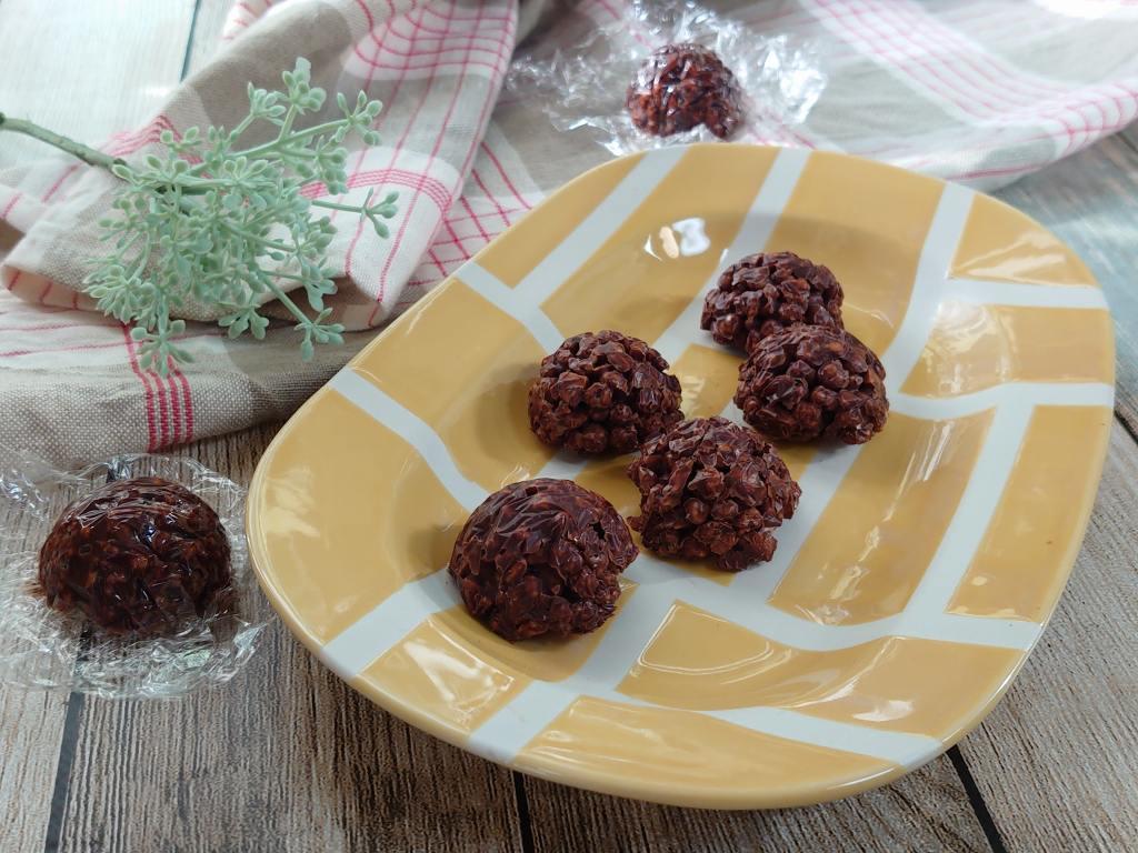 「美容に良さそうなクランチチョコ」の作り方☆簡単なのに美味しい!!