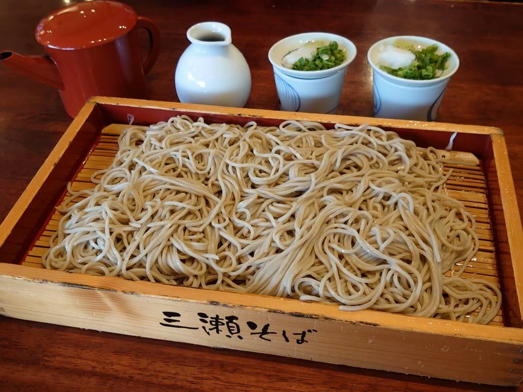 「三瀬そば(佐賀県佐賀市)」出汁巻きがおいしい七割蕎麦のお店
