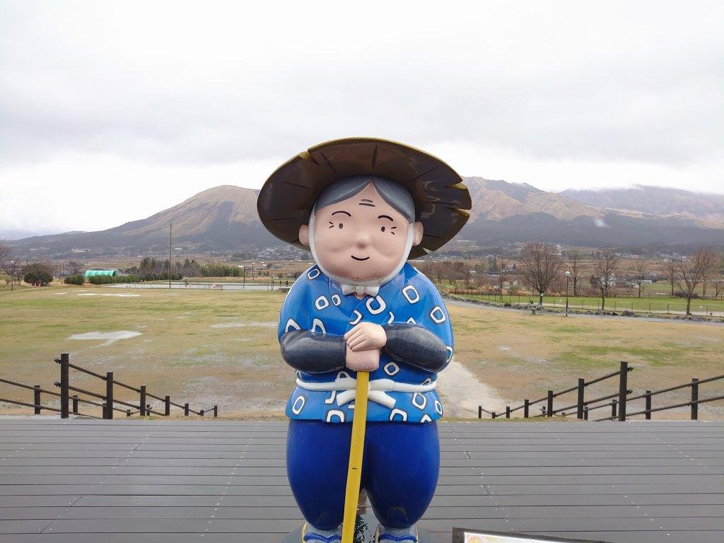 「道の駅 あそ望の郷くぎの(熊本県南阿蘇村)」阿蘇山をのぞむ撮影スポットと充実の施設