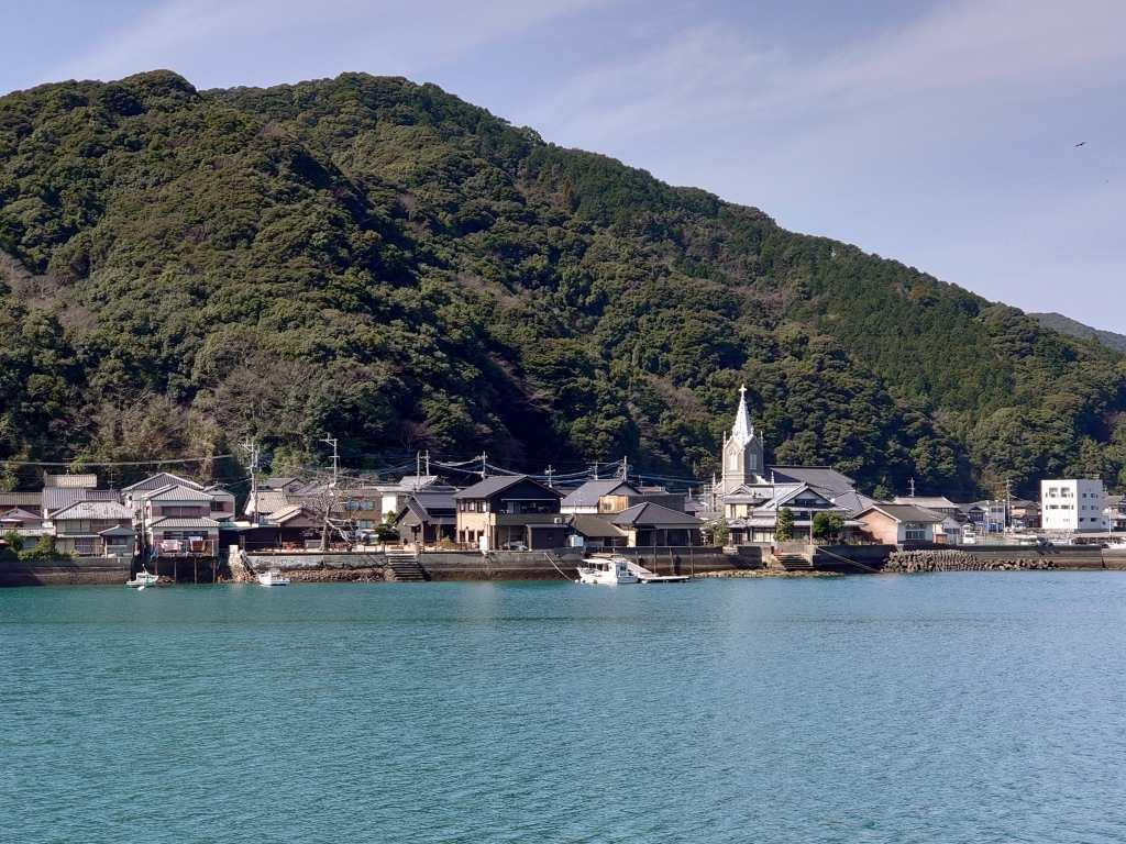 「崎津集落(熊本県天草市)」世界文化遺産!崎津教会のある海辺のまち