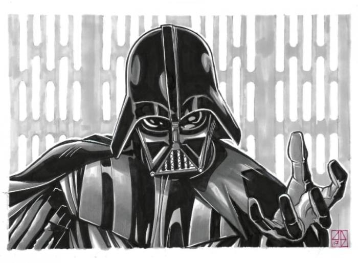 Andrea Darth Vader