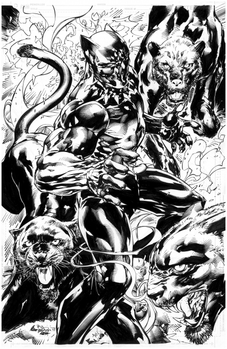 Black Panther pinup