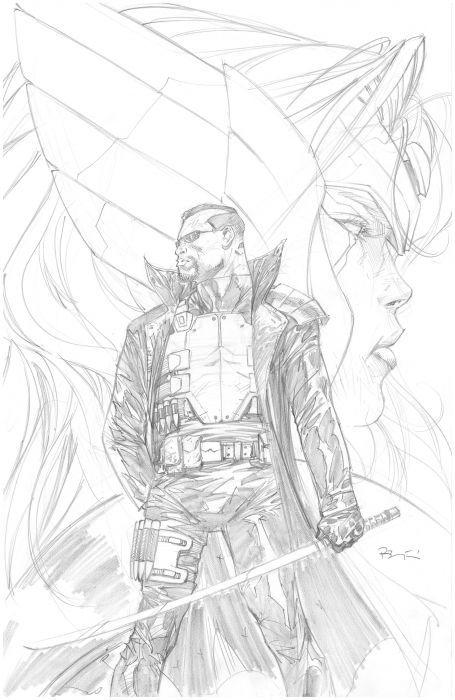 STRIKEFORCE 1 Variant Cover Ryan