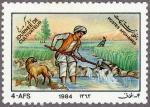 アフガニスタン・農民の日(1984・用水路)