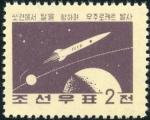 北朝鮮・ソ連での月に向けての宇宙ロケット発射(1959)