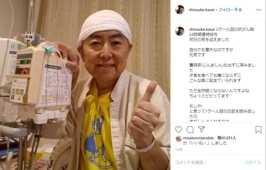 がん ステージ 笠井アナ