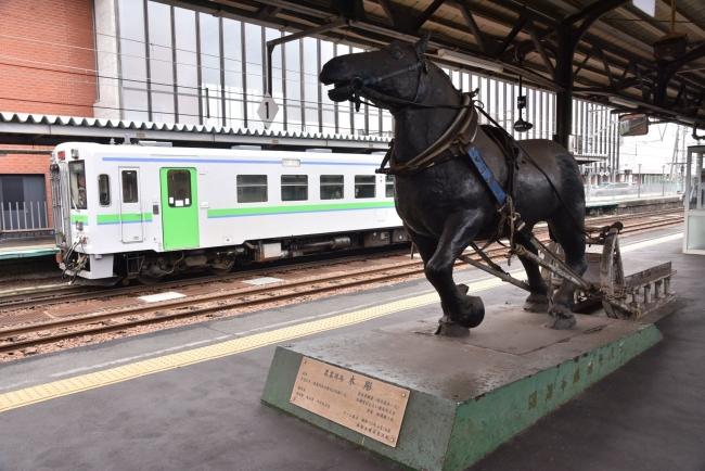 5岩見沢駅ばん馬
