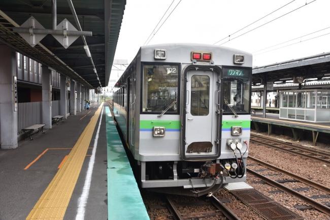 6岩見沢駅キハ150