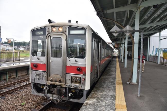27名寄駅キハ54