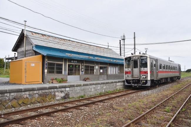 14抜海駅
