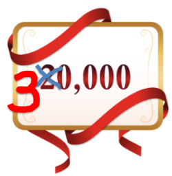 thirty thousand